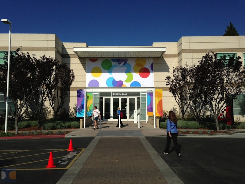 Tutto pronto per il keynote di Apple a Cupertino!