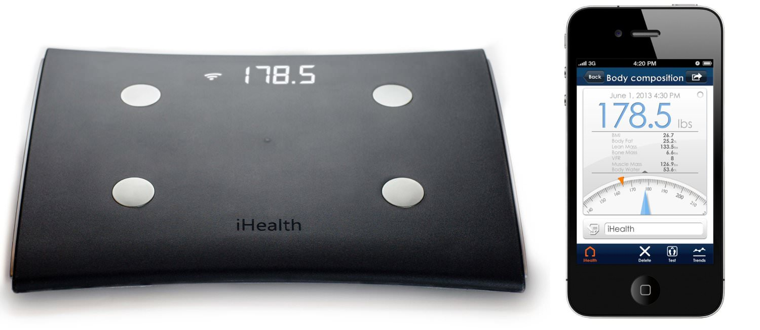 Bilancia iHealth HS5 wireless con Body Analysis | Recensione