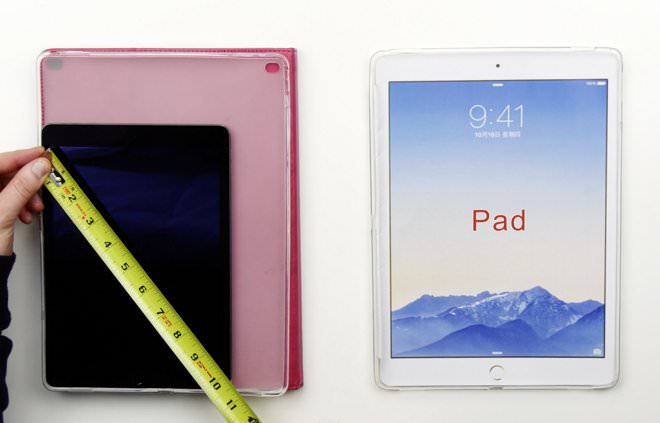 Le prime custodie per iPad Pro mostrate in un video