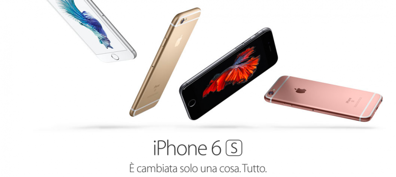 Ecco i nuovi iPhone 6s e 6s Plus – Apple Special Event
