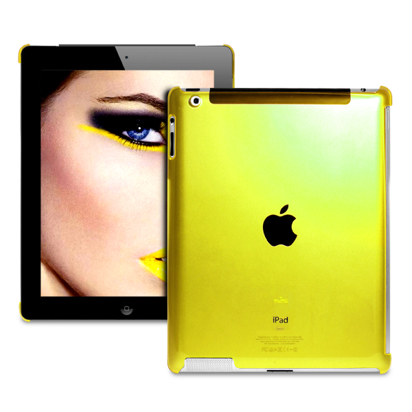 Cover iPad Crystal Fluo by Puro: una coloratissima cover per il vostro iPad