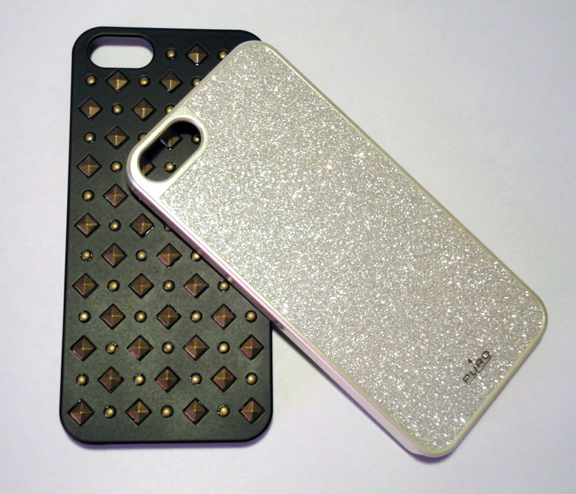 Cover Glitter e Rock per iPhone 5/5S di Puro | Recensione