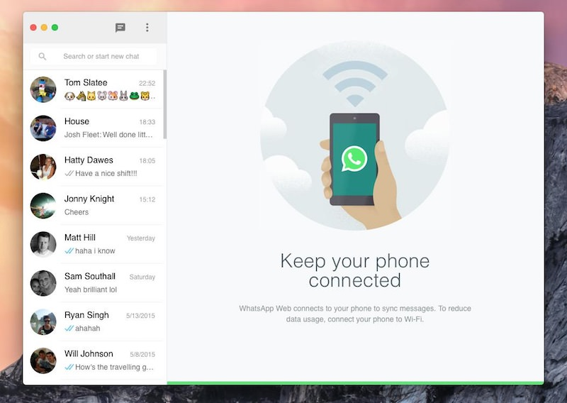 WhatsMac: utilizzare WhatsApp sul mac